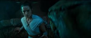 Rey heals a snake