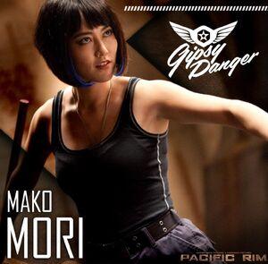 Rinko Kikuchi as Mako Mori in Pacific Rim 4