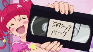 STPC26 Hikaru whips out a movie for them to watch