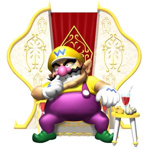 Wario Throne WarioWorld