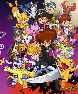 Digimon Halloween