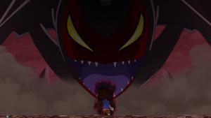 DoneDevimon vs Taichi