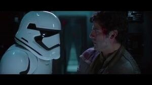 Finn and Poe Escape the First Order - Star Wars Eposode VII The Force Awakens