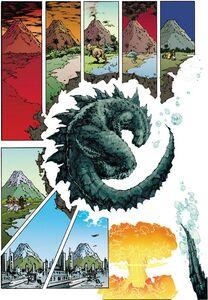 Godzilla hibernate