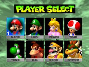 Mario Kart 64 - All Characters