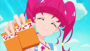 STPC02 Hikaru offering Lala some juice