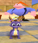 Spyro 2 Ripto's Rage! spyro and Agent Zero