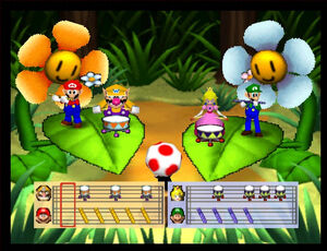 Mario party 2 64 mario bandstand