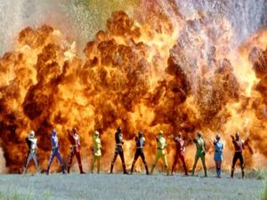 Ninja Storm & Dino Thunder Team up