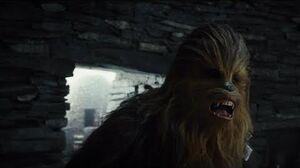 Star Wars The Last Jedi - Rey & Chewbacca Found Luke Scene HD 1080i