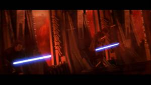 Vader sprints