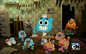 Gumball's Eight Children