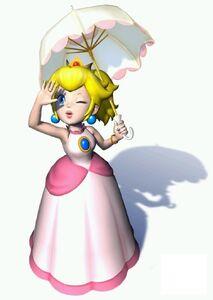 Peach in Super Mario Sunshine