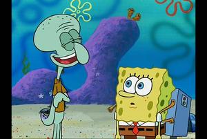 SpongeBob, I'm moving far from here.
