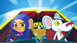 DM, Penfold and Jeopardy Mouse