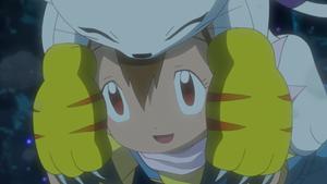 Gatomon and Hikari (1)