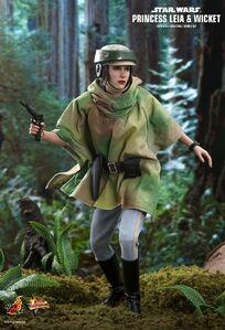 Hot-toys Leia ROTJ (Endor)