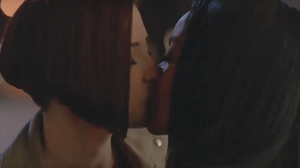 Kelly and Alex kisses