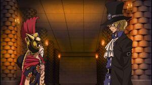 Luffy meets Sabo