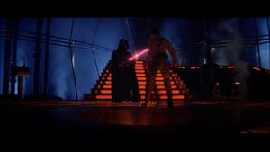 Darth Vader lowering