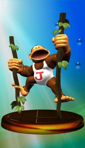 Donkey Kong Jr. Trophy