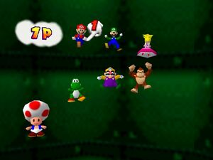 Mario party 64 all characters