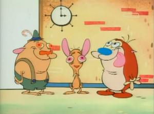 Sven, Ren & Stimpy