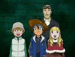 Taichi, Takeru, Catherine and Michel
