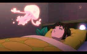 Akane woken up by Candy