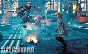 Gwen running