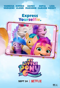 My Little Pony A New Generation 'Express Yourselfie' poster
