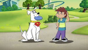 Krypto and Kevin first meet