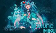 Hatsune miku wallpaper by neko death-da1x54w