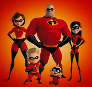 Incredibles 2 family promo