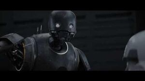 K2SO Best scenes Star Wars Rogue One