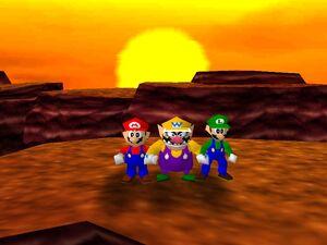 Mario party 64 mario wario and luigi