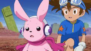 Taichi with Cutemon