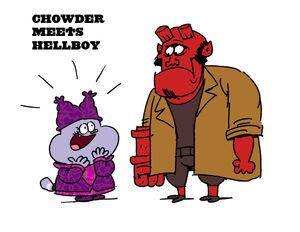 Chowder-meets-hellboy