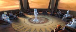 Jedicouncil holograms
