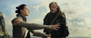Luke teaches Rey 2