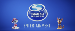 Spinmaster logo ft Marshall and chase (paw patrol the movie)