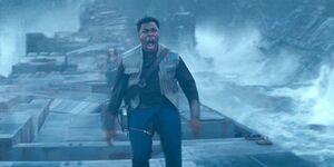 Finn-shouting-at-rey-on-endor