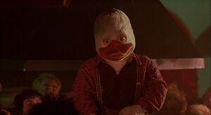 Howard the Duck's feroicous stare