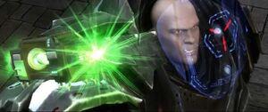 Lex Attemped Defeat Evil Superman