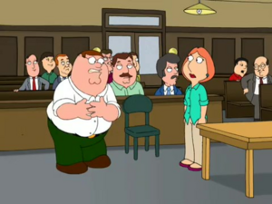Peter and Lois (This is bad)