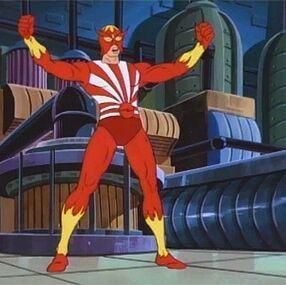 Sunfire spider-man