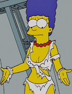 Marge Simpson's belly button