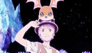 Patamon and T.K.