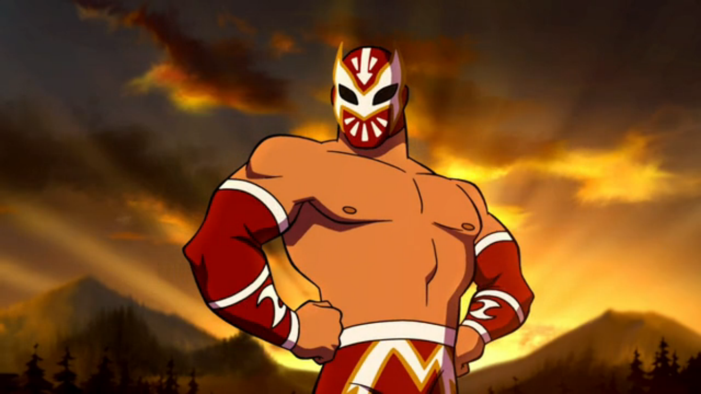 Sin Cara (Scooby-Doo! WrestleMania Mystery)