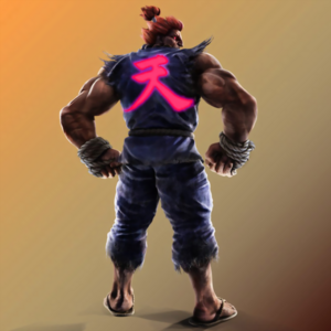 Street Fighter - Akuma as he appears in Tekken 7 Fated Retribution